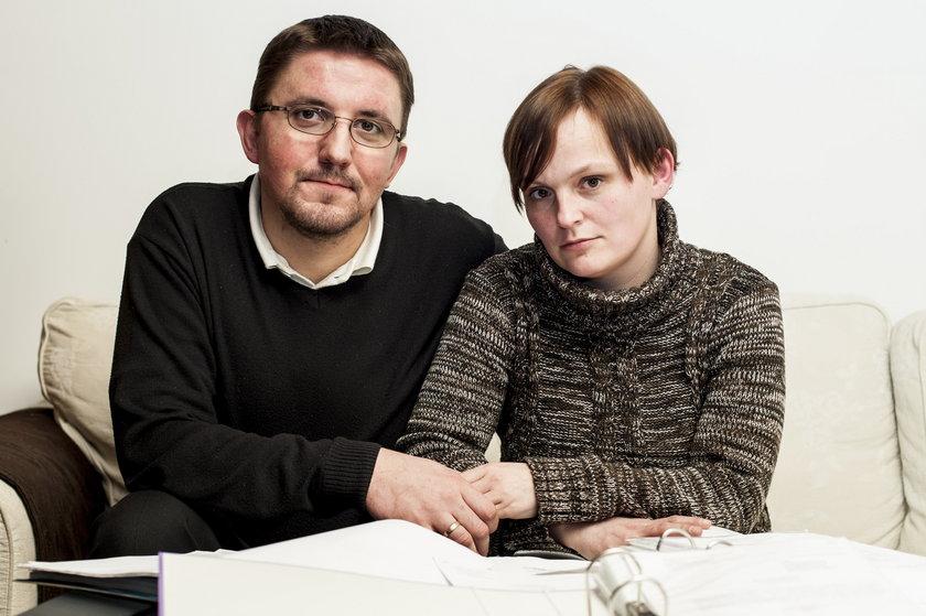 Ewelina i Michał Bednarscy z Sosnowca stracili dziecko przez błąd lekarski