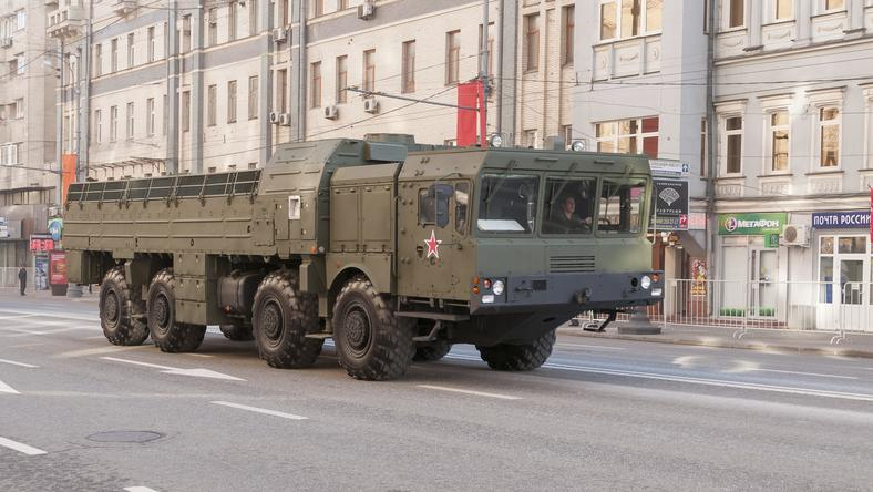 Wyrzutnia rakiet Iskander