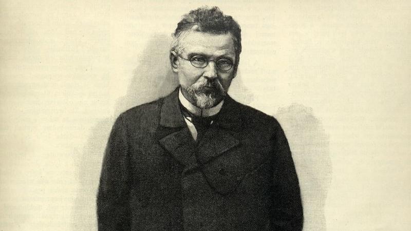 """Portret Bolesława Prusa na okładce """"Tygodnika Ilustrowanego"""", Warszawa 1897"""