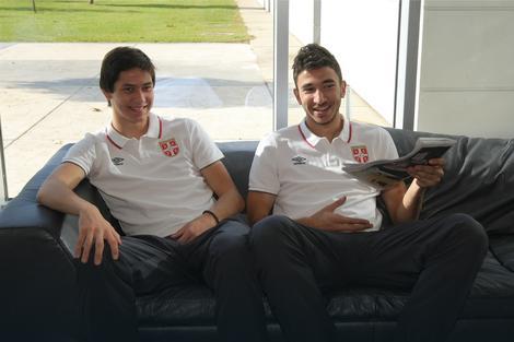 Saša Lukić i Marko Grujić
