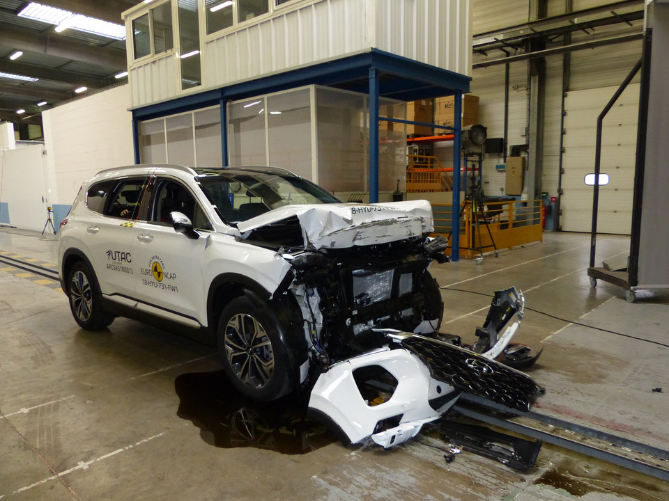 Hyundai Santa Fe – crash-test