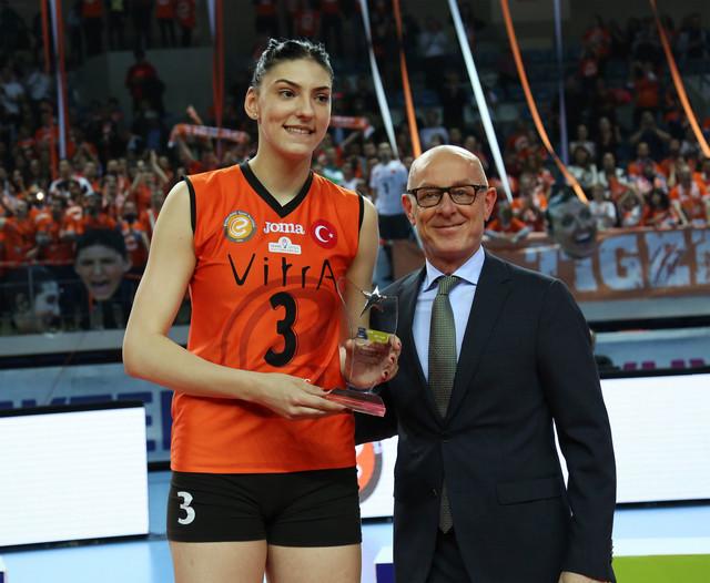 Tijana Bošković je bila MVP finala Kupa CEV