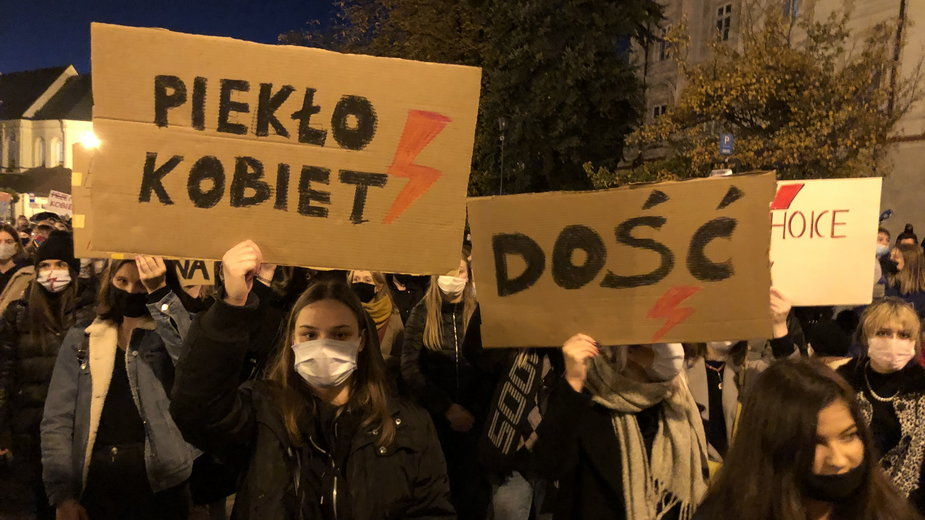 Strajk Kobiet w Lublinie