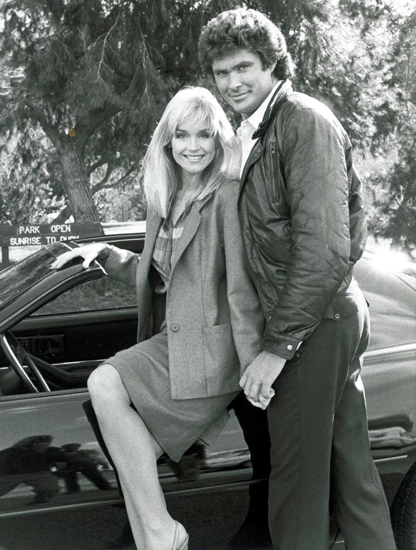 David Hasselhoff i Catherine Hickland