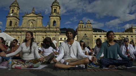 Dzień medytacji w Bogocie (Kolumbia)