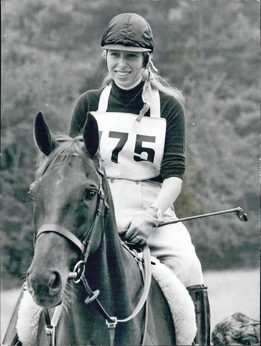 Księżniczka Anna w 1971 roku