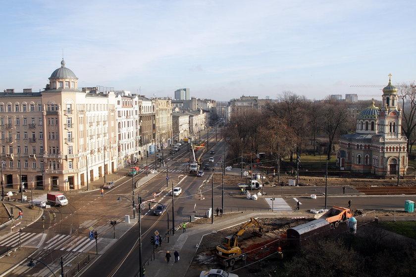 Skrzyżowanie ulic Narutowicza i Kilińskiego