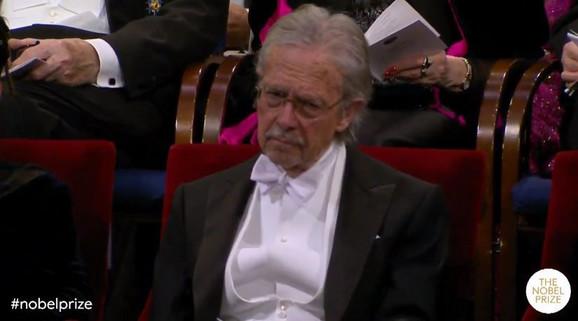 Handke na dodeli Nobelove nagrade