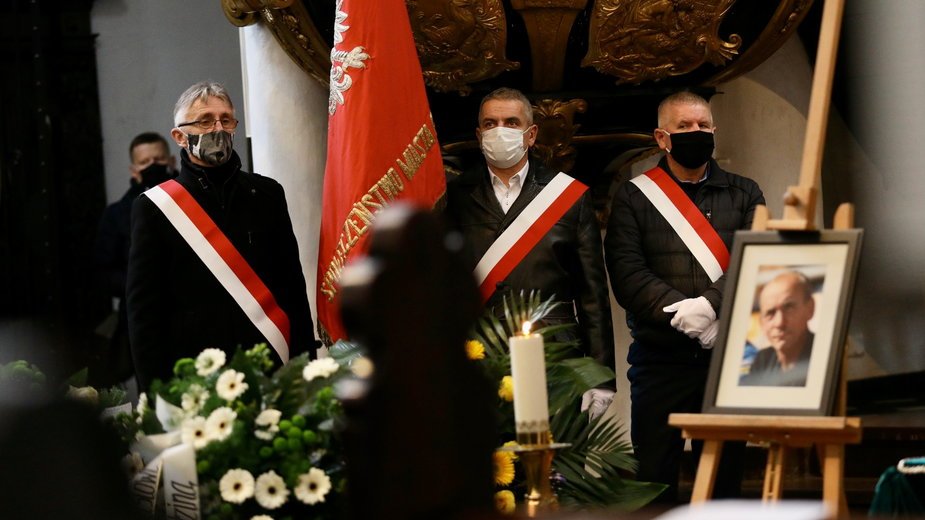 Pogrzeb Zenona Plecha