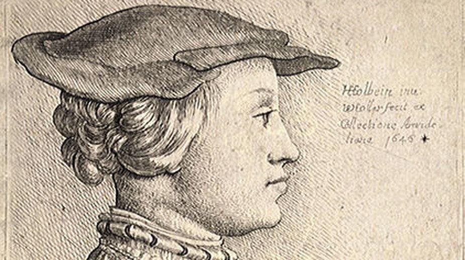 Anna z Kleve (rysunek Wenceslausa Hollara)