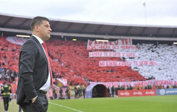 FK Crvena zvezda, Vladan Milojević