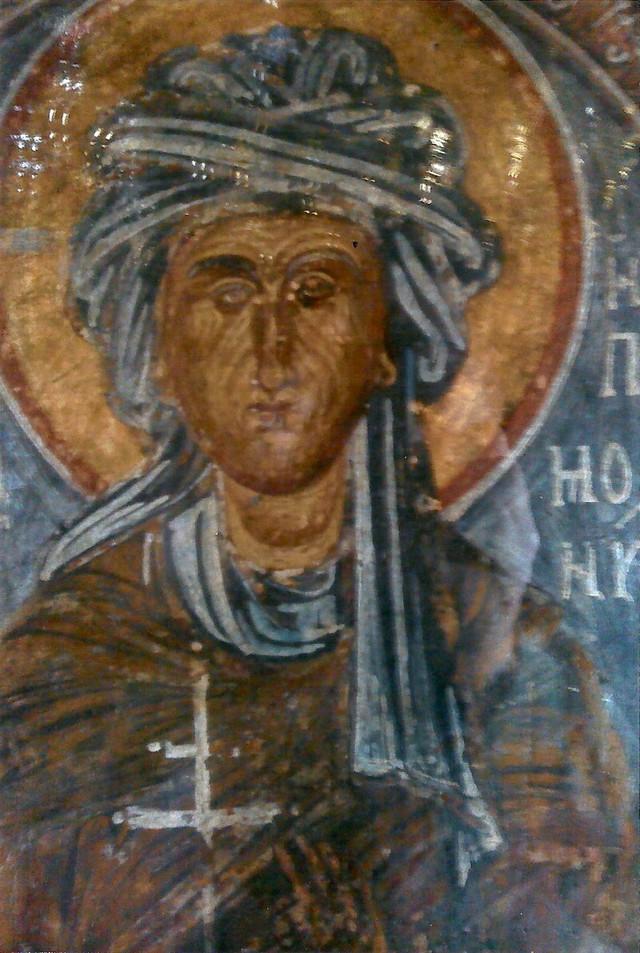 Ikona sa likom Jelene Paleolog kao monahinje Ipomonije