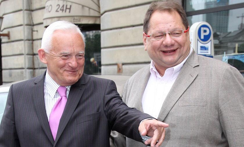 Leszek Miller i Ryszard Kalisz