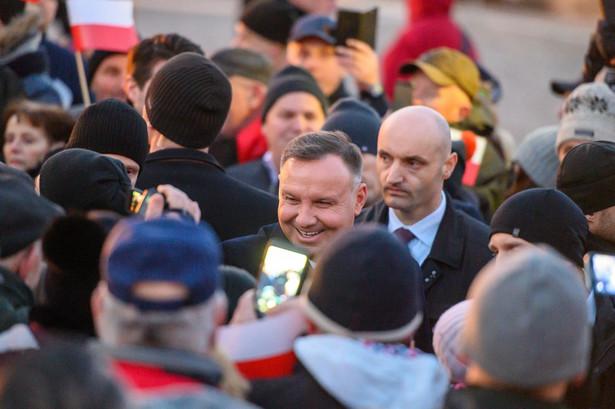 Andrzej Duda w Zakliczynie