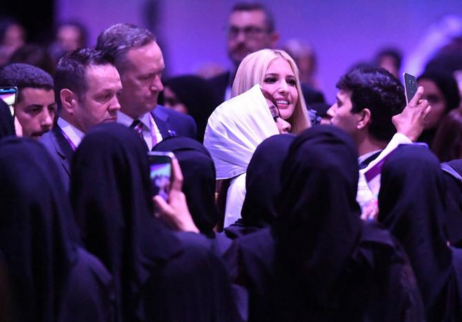 Ivanka Tramp u Dubaiju