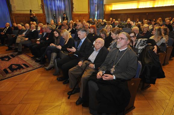 SANU, komemorativni skup Vladeti Jerotiću