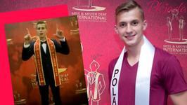 22-letni Polak został Misterem Świata! Kim jest Mateusz Borowski?
