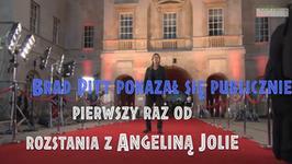 Pitt pokazał się publicznie pierwszy raz od rozstania z Jolie. Nie był sam