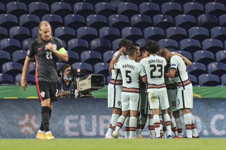 Fudbalska reprezentacija Portugala, Fudbalska reprezentacija Hrvatske