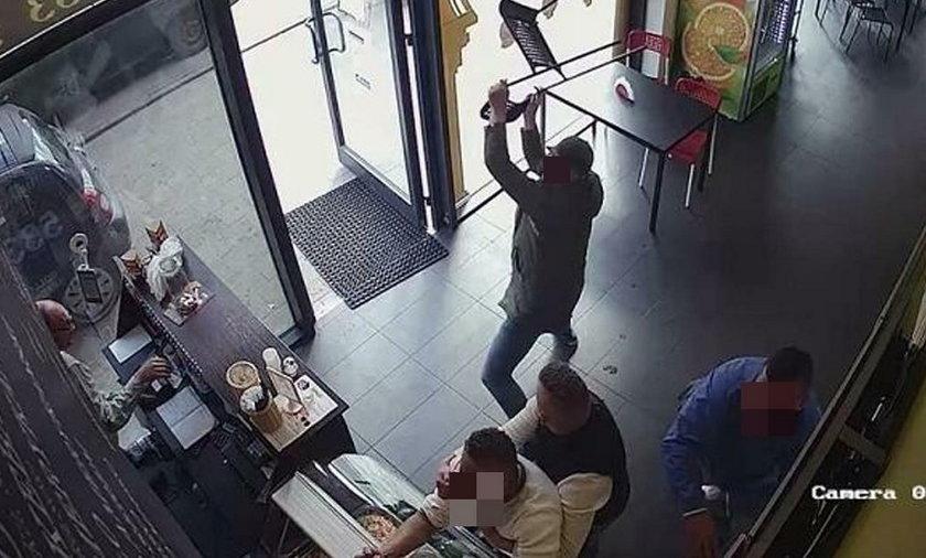 Łódź. Rasistowski atak na kebab na Bałutach