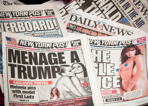 Golišave fotografije Melanije Tramp u