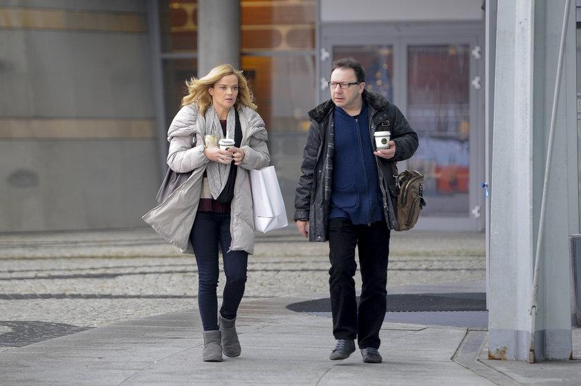 Monika i Zbigniew Zamachowscy w styczniu 2013 roku