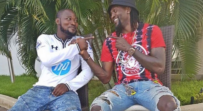 Funny Face begs Adebayor as he unfollowed him on Instagram over disrespect (WATCH)