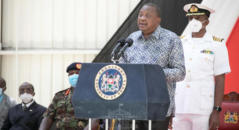 Uhuru inaugurates National Air Support Department