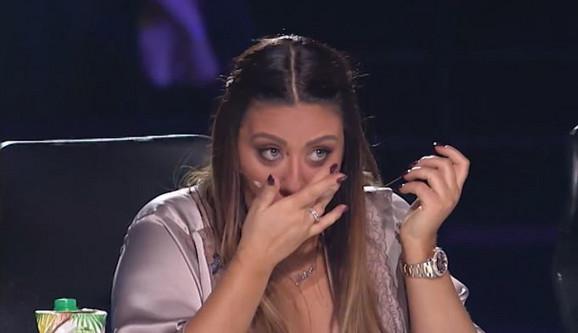 Ana Nikolić se rasplakala