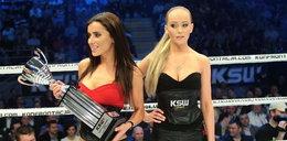 Nowe piękne ring girls KSW