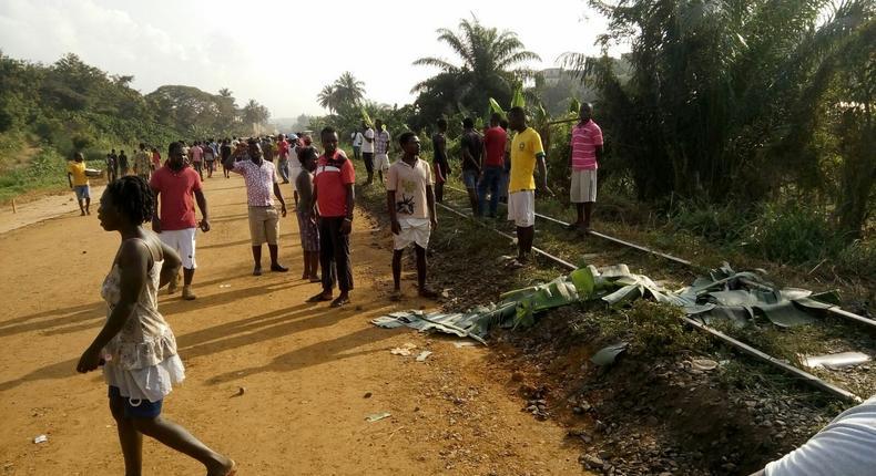 Decapitated body found near Sekondi railway