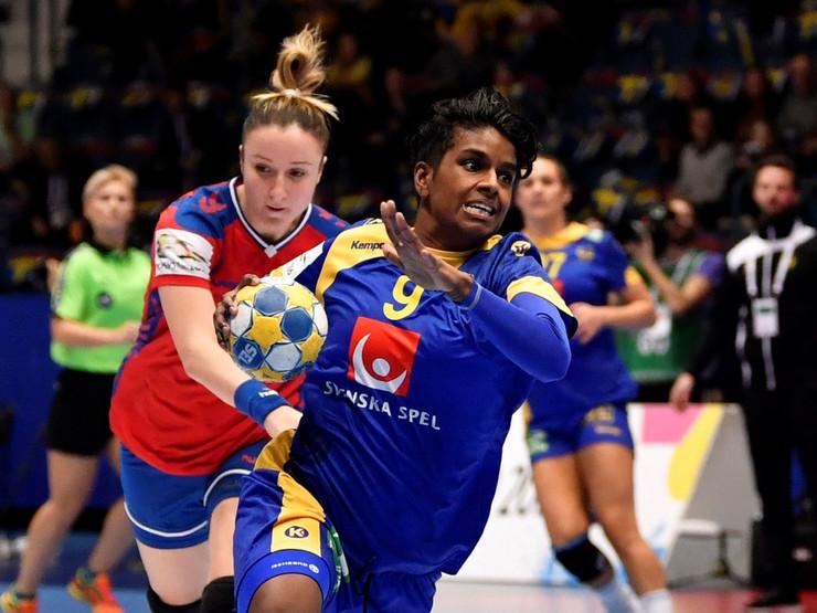 Ženska rukometna reprezentacija Srbije, Ženska rukometna reprezentacija Švedske