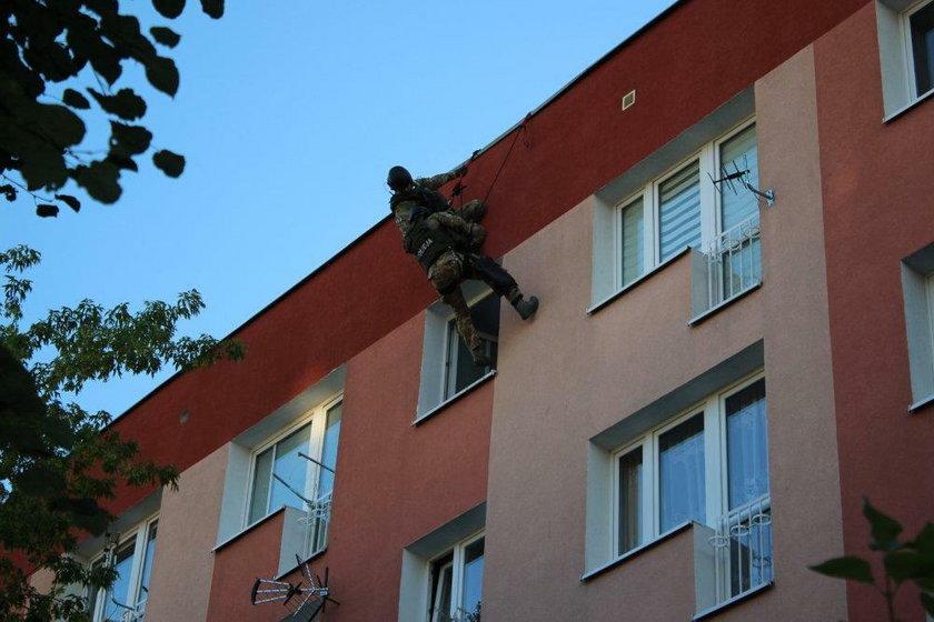 Akcja antyterrorystów w Brzegu