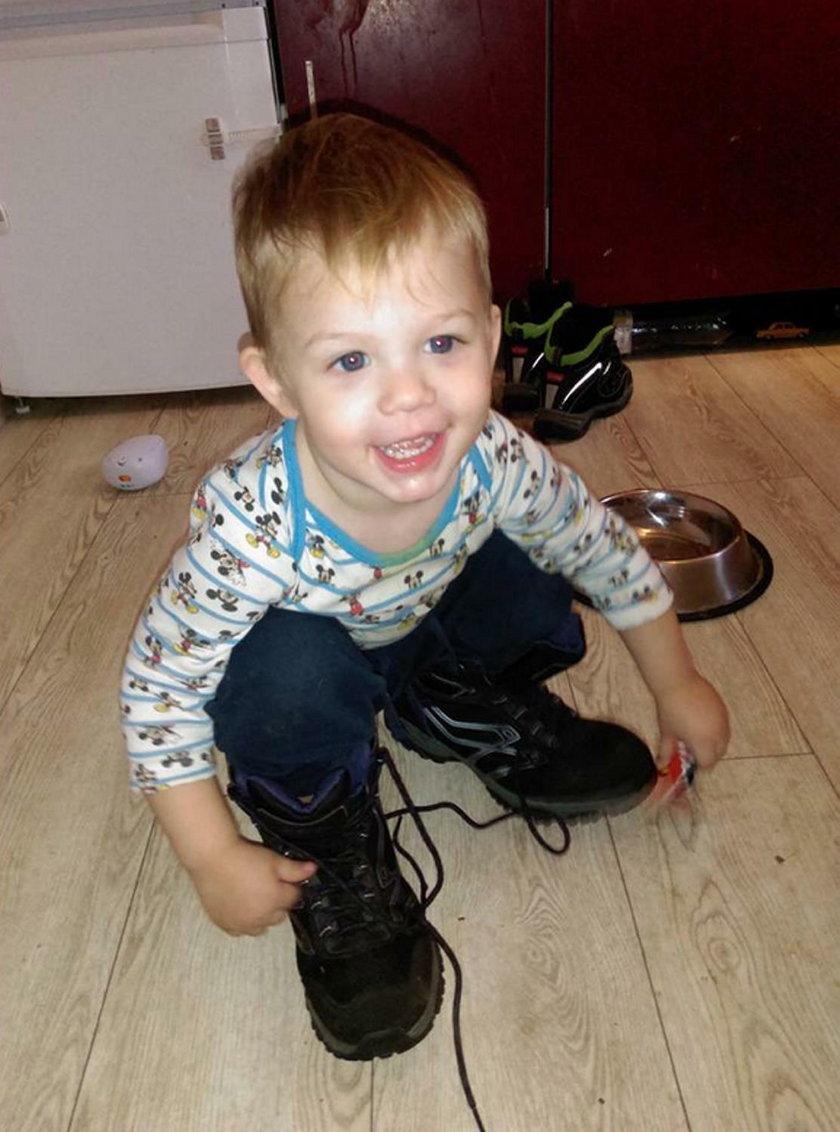 Natan w grudniu skończyłby 3 latka