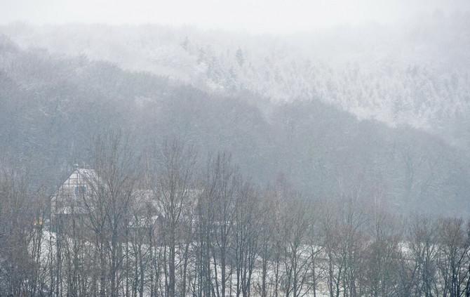 Kuća u planini za zimski odmor iz snova