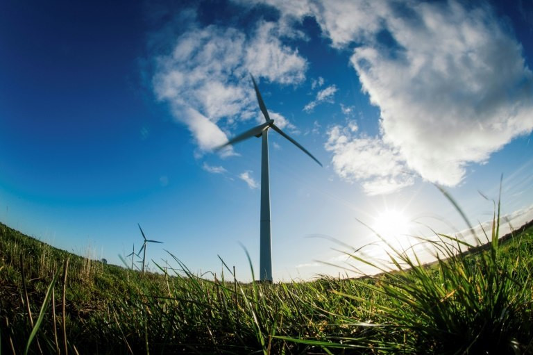 There is a bright future for wind and solar power as they are rapidly becoming cheaper than fossil fuel electricity plants.
