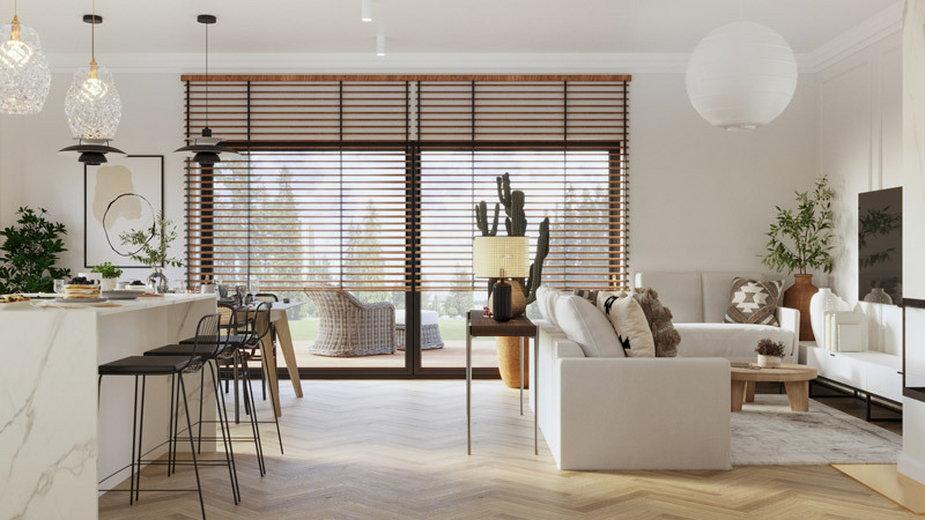 Przytulne i eklektyczne wnętrza domu