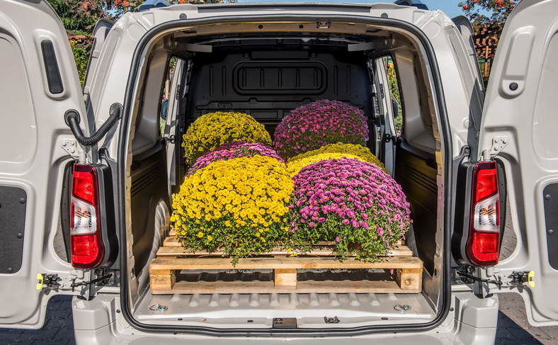 Dostawczy Opel to ładownia o pojemności 4,4 m sześc. W przedziale towarowym między wnękami nadkoli zmieszczą się dwie europalety - nawet w Combo o krótszym rozstawie osi. Transport długich przedmiotów, takich jak deski, umożliwi opcjonalny luk dachowy