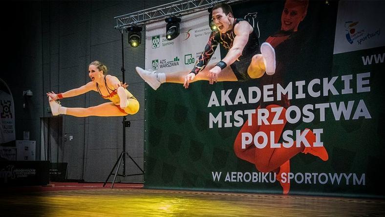 Ozłocony AWF Kraków