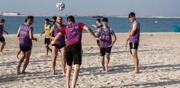 Piłkarze mistrza Polski w Dubaju. Legia bawi się na plaży