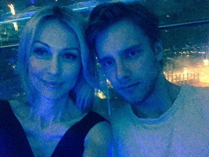 Magdalena Ogórek i Maciej Musiał
