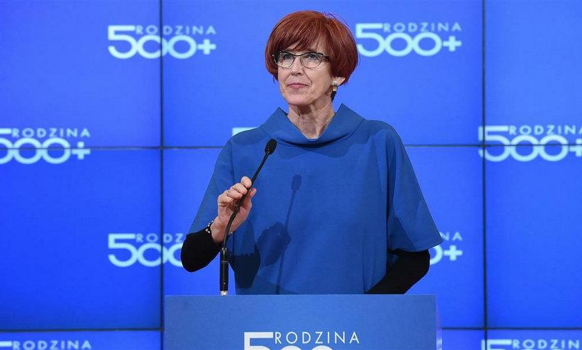 Elżbieta Rafalska.