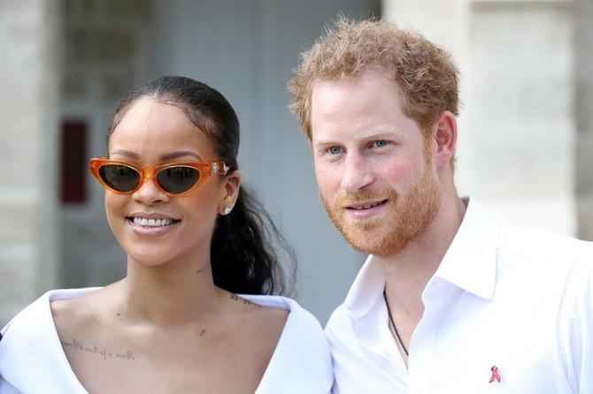 Rijana i princ Hari 2016. na Barbadosu