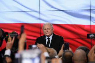 Kaczyński o wynikach wyborów 2019: Mimo potężnego frontu przeciwko nam zdołaliśmy wygrać