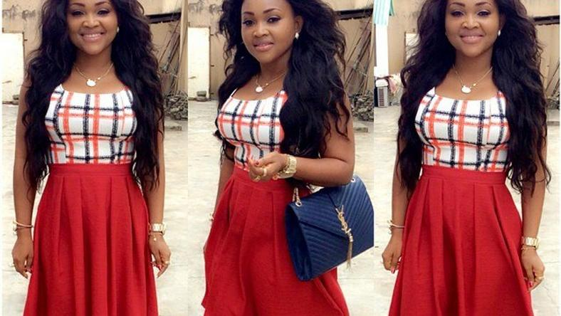 Mercy Aigbe shares stylish look