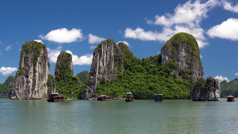 Wietnam - zatoka Ha Long