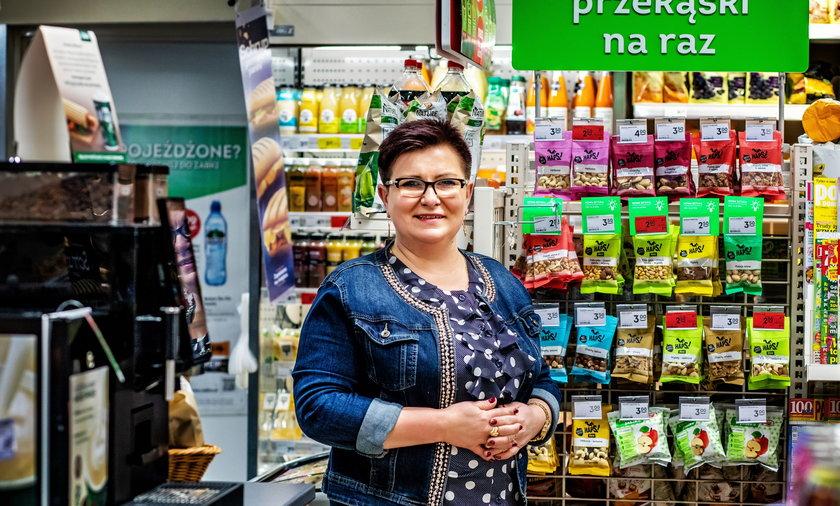 Marta Wójcik – franczyzobiorczyni z Sosnowca, żałuje że tak późno wzięła się za własny biznes w ramach franczyzy z Żabką. Foto: Marcin Kurowski / www.DomelArt.pl