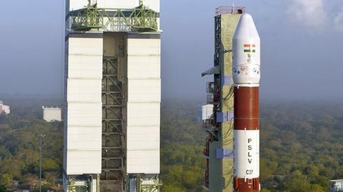Rakieta PSLV wyniosła na orbitę 104 satelity