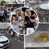 JAJA, BLOKADE ULICA I INCIDENT U NEMANJINOJ Scene koje su obeležile današnji protest osmaka zbog SKANDALA SA MALOM MATUROM