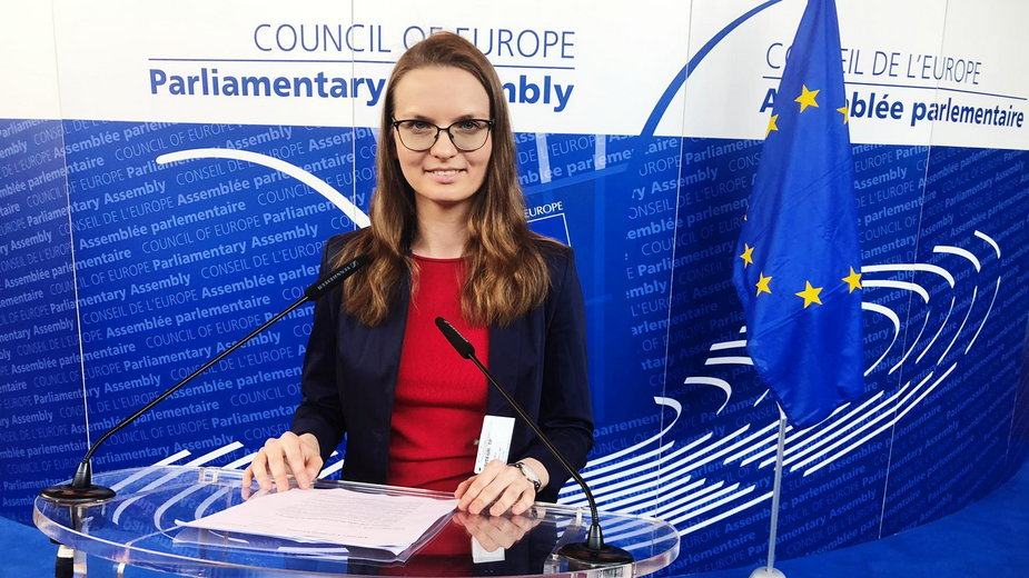 Ludmiła Kozłowska w Radzie Europy